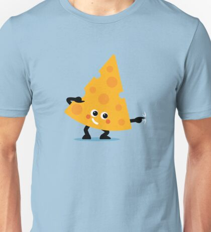 Character Fusion - Just Cheese Unisex T-Shirt