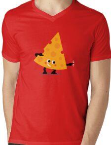 Character Fusion - Just Cheese Mens V-Neck T-Shirt