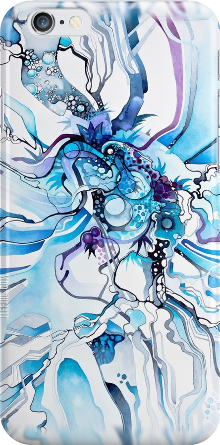 Sub-Atomic Stress Release Therapy - Watercolor Painting by jeffjag