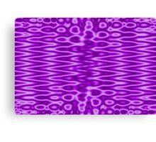 Purple Abstract Design Canvas Print