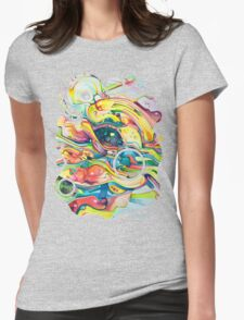 Timeless June 26 2007 - Watercolor Painting Womens Fitted T-Shirt