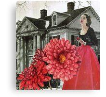 Red Chrysanthemum Canvas Print