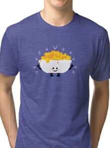 Character Fusion - Just Mac&Cheese Tri-blend T-Shirt
