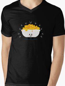 Character Fusion - Just Mac&Cheese Mens V-Neck T-Shirt
