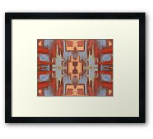 ABSTRACT 718 Framed Print