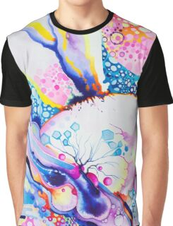 Infinite Flare - Watercolor Painting Graphic T-Shirt