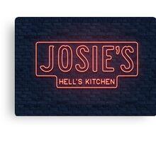 Josie's Bar Canvas Print