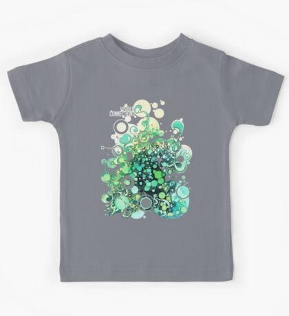 Visible Connections - Watercolor and Pen Art Kids Tee