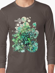 Visible Connections - Watercolor and Pen Art Long Sleeve T-Shirt