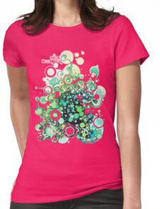 Visible Connections - Watercolor and Pen Art Womens Fitted T-Shirt