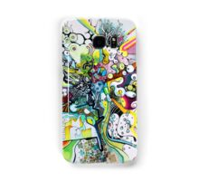 Tubes of Wonder - Abstract Watercolor + Pen Illustration Samsung Galaxy Case/Skin