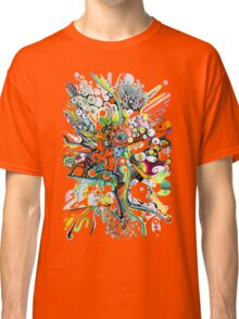 Tubes of Wonder - Abstract Watercolor + Pen Illustration Classic T-Shirt