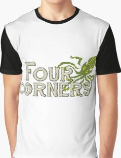 Four Corners colour logo - for dark backgrounds Graphic T-Shirt