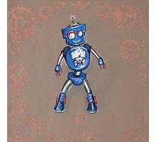 Robot Gauge Photographic Print