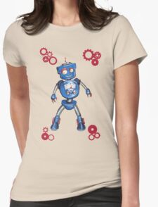 Robot Gauge Womens Fitted T-Shirt