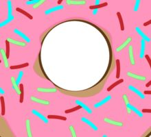 Treat yo' self donut Sticker