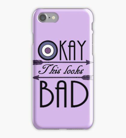 Okay... This looks bad iPhone Case/Skin