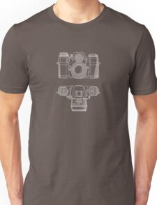 Vintage Photography - Contarex Blueprint Unisex T-Shirt
