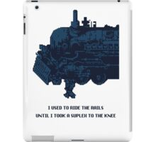 Final Fantasy VI Sabin iPad Case/Skin