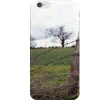 Dilapidated Fence iPhone Case/Skin