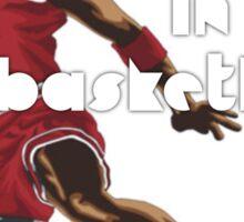 Dreams Live In Basketball Sticker
