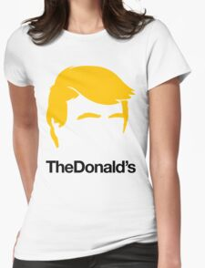 TheDonald's Womens Fitted T-Shirt