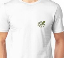 Four Corners tiny crest - for light backgrounds Unisex T-Shirt