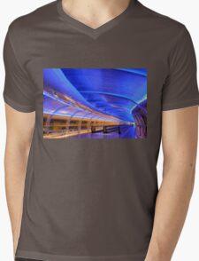 Manchester Airport Mens V-Neck T-Shirt