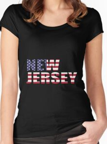 New Jersery Women's Fitted Scoop T-Shirt