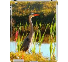 Hello Heron iPad Case/Skin