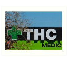 THC Medic Wear Art Print