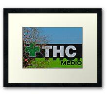 THC Medic Wear Framed Print