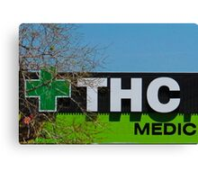 THC Medic Wear Canvas Print