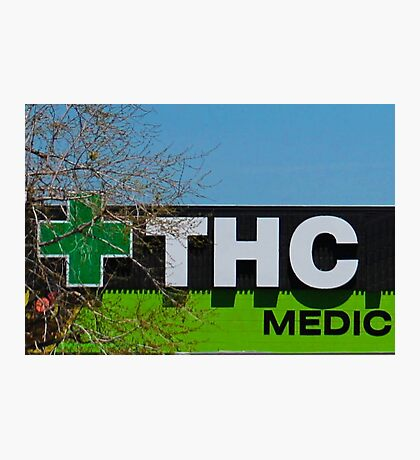 THC Medic Wear Photographic Print