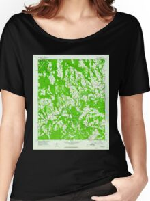 USGS TOPO Map Alabama AL Nectar 304656 1961 24000 Women's Relaxed Fit T-Shirt