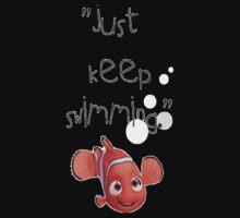 Nemo- Keep swimming Kids Tee
