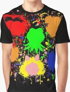 Muppet Splatter Graphic T-Shirt