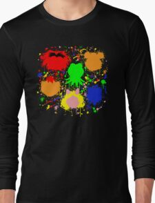 Muppet Splatter Long Sleeve T-Shirt