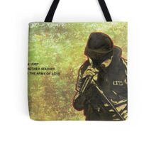 Just another soldier Tote Bag