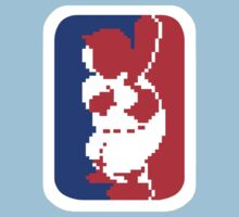 Nintendo RBI Baseball Major League MLB Logo Kids Tee