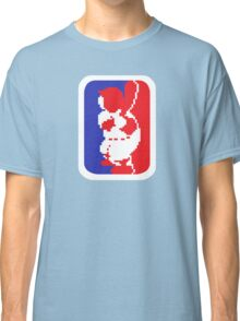 Nintendo RBI Baseball Major League MLB Logo Classic T-Shirt
