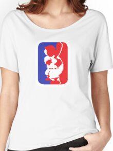 Nintendo RBI Baseball Major League MLB Logo Women's Relaxed Fit T-Shirt