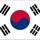 South Korea Flag Products by Mark Podger