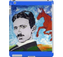 Tesla Knows iPad Case/Skin