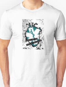 nurses are the anatomical heart of health care Unisex T-Shirt