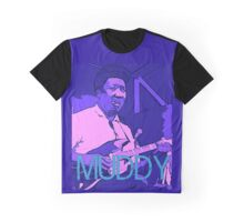 Muddy Waters - Chicago Blues Graphic T-Shirt