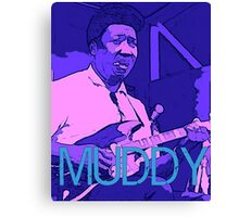 Muddy Waters - Chicago Blues Canvas Print