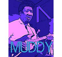 Muddy Waters - Chicago Blues Photographic Print