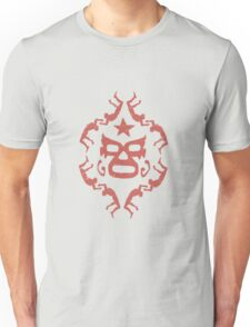 Red Lucha Libre Pattern 1 Unisex T-Shirt