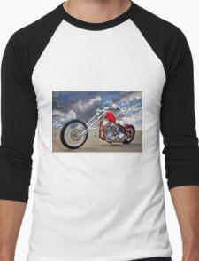 Cherry Chopper HDR Men's Baseball ¾ T-Shirt
